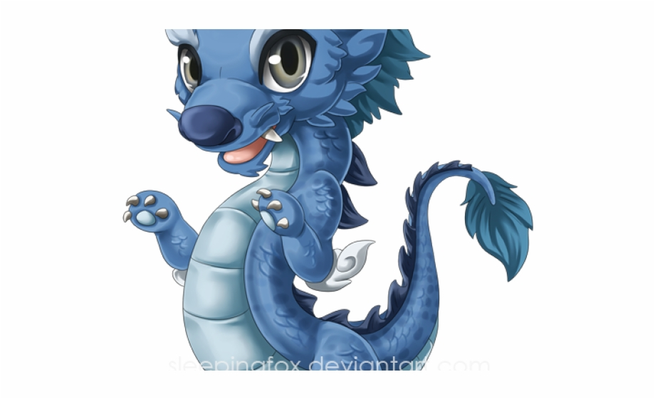 Sea chinese anime baby. Monster clipart water