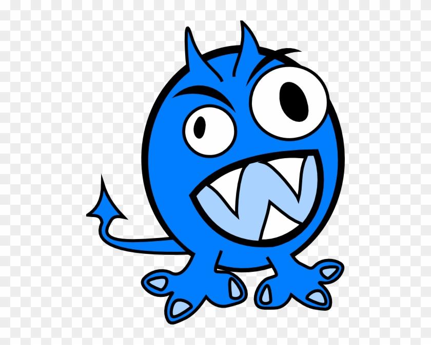 Monster clipart water. Blue clip art free