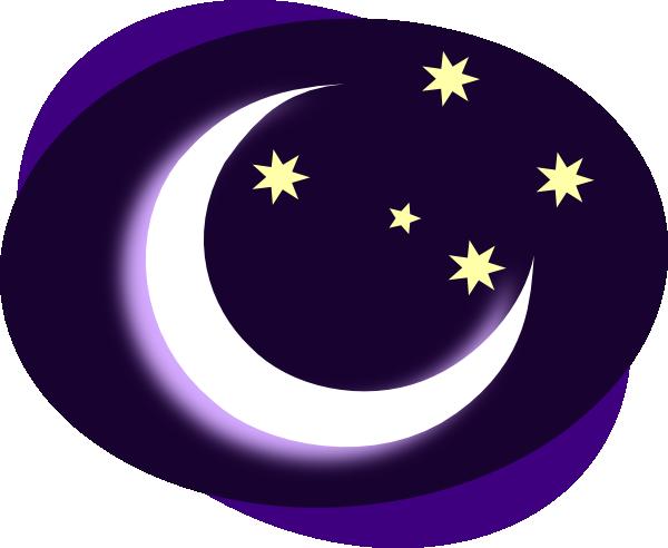 Moon clipart. No background clip art
