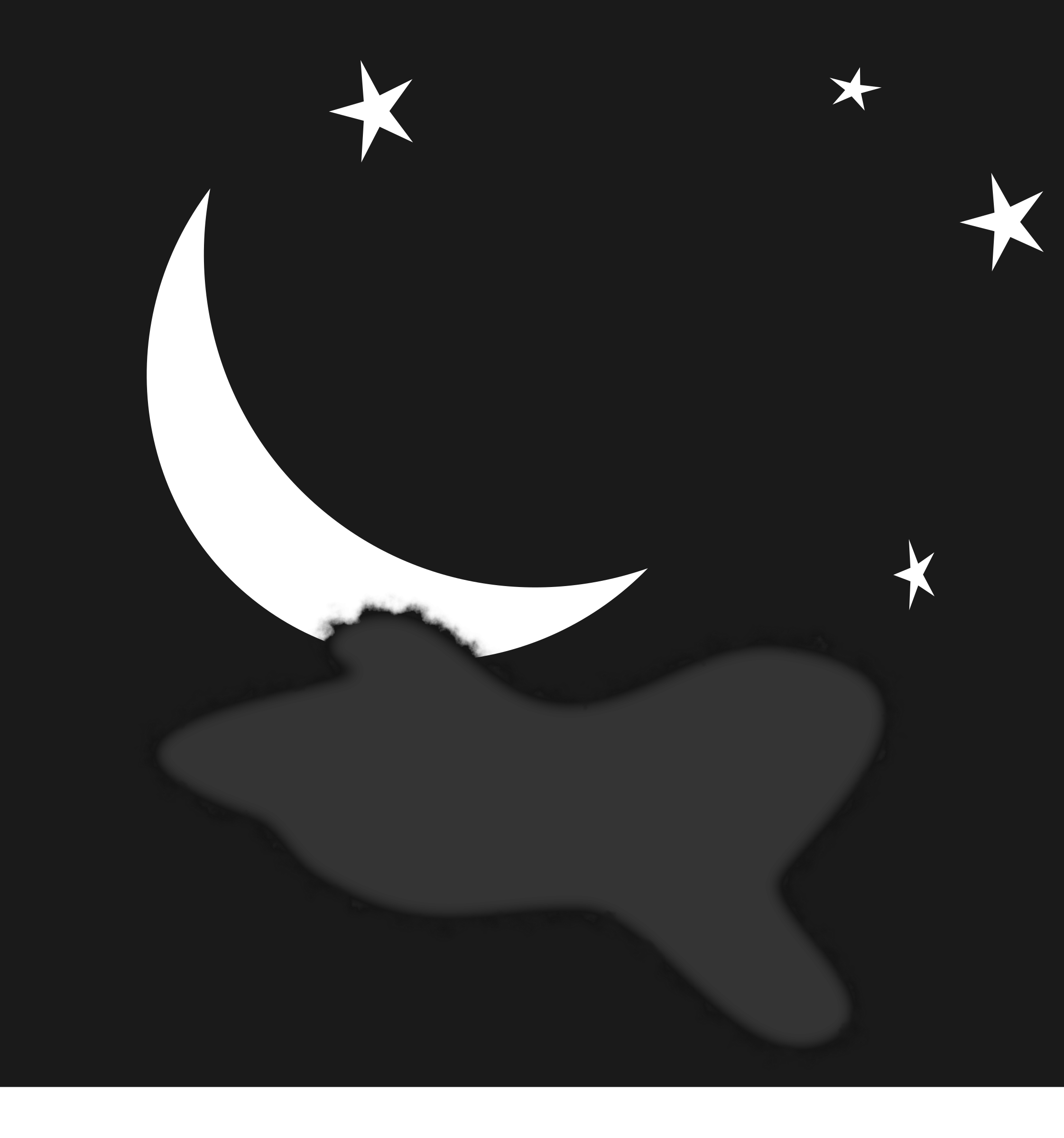 Moon clipart bitmap. Free starry sky download