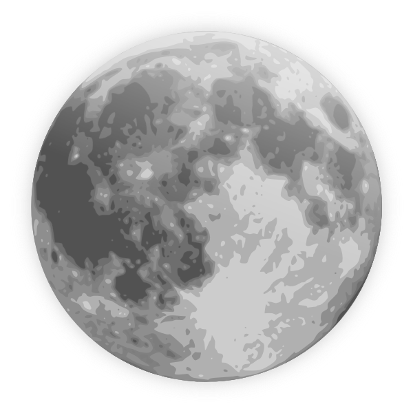 Icon clip art at. Night clipart full moon night