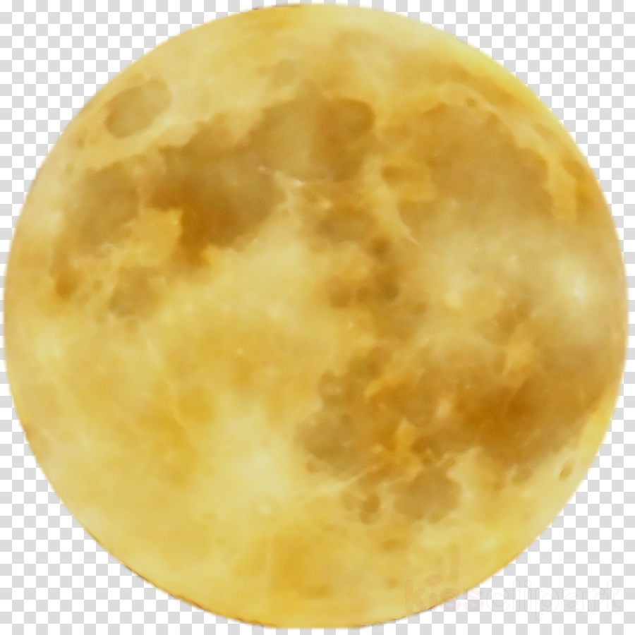 Moon clipart yellow. Full space transparent clip