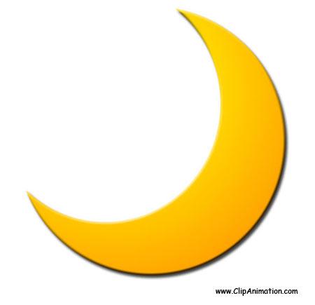 Clip art free images. Moon clipart