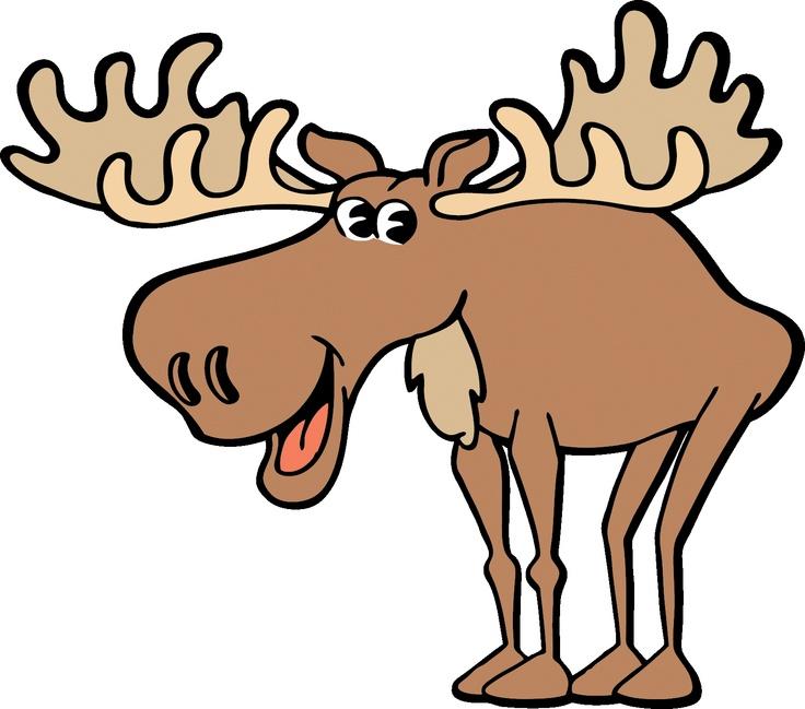 Moose clipart. Jokingart com