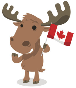 The scoop earth rangers. Moose clipart animal canada