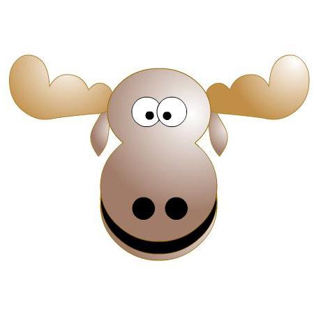 Moose clipart animated. Cartoon free clip art