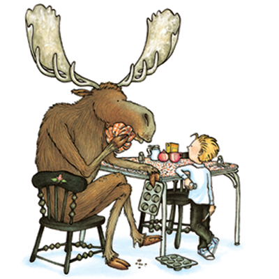 Pencil and in color. Muffin clipart if you give a moose a muffin