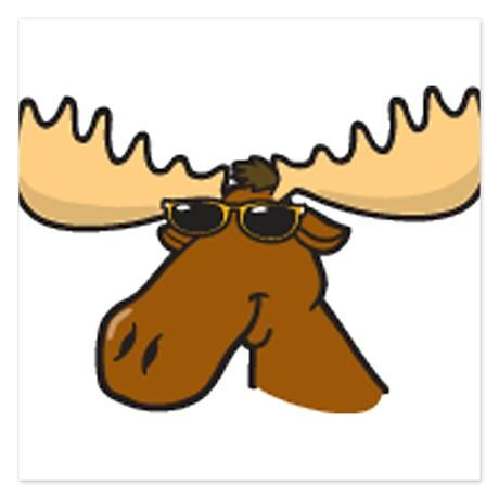 Moose clipart comic. Cool cartoon pictures funny