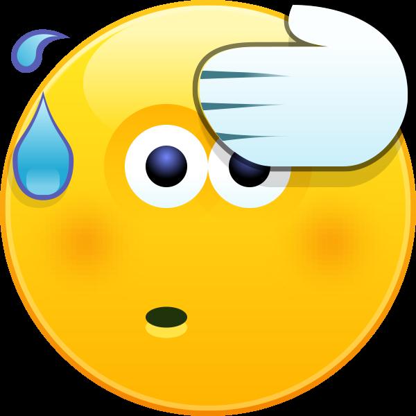 Microsoft iilustrates this way. Nervous clipart nervous emoji