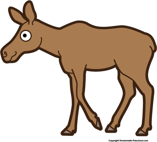 Free birthday cliparts download. Moose clipart female moose
