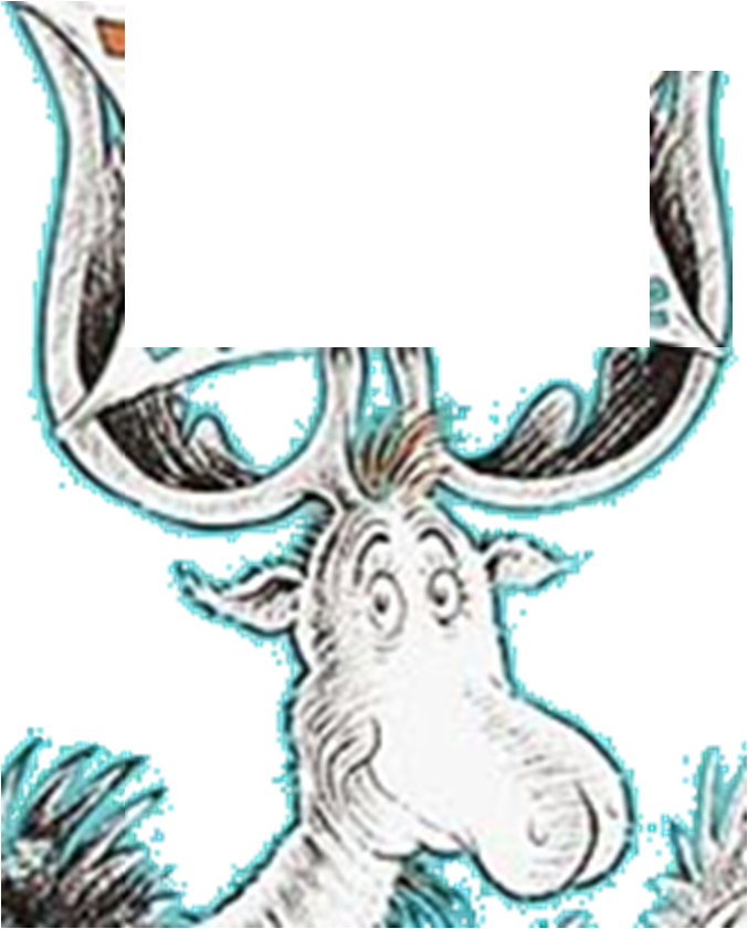 Moose clipart file. Image thidwick the big