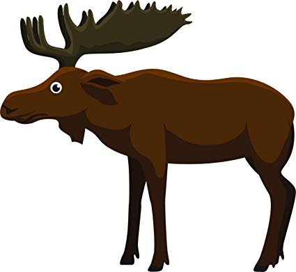 Amazon com simple silly. Moose clipart game wild