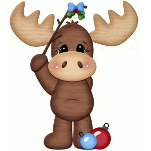 Moose clipart girl moose. Free christmas cliparts download
