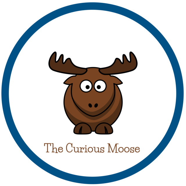 The curious kids wooden. Moose clipart kid