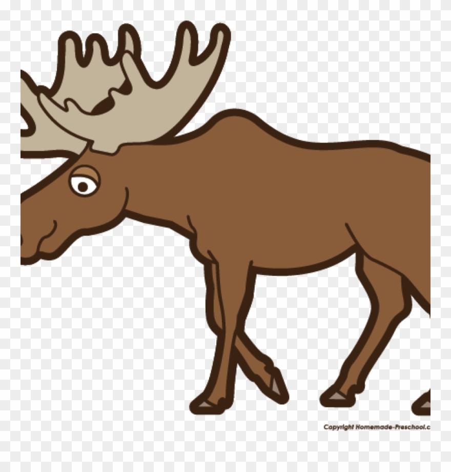Moose clipart kid. Free labor day clip