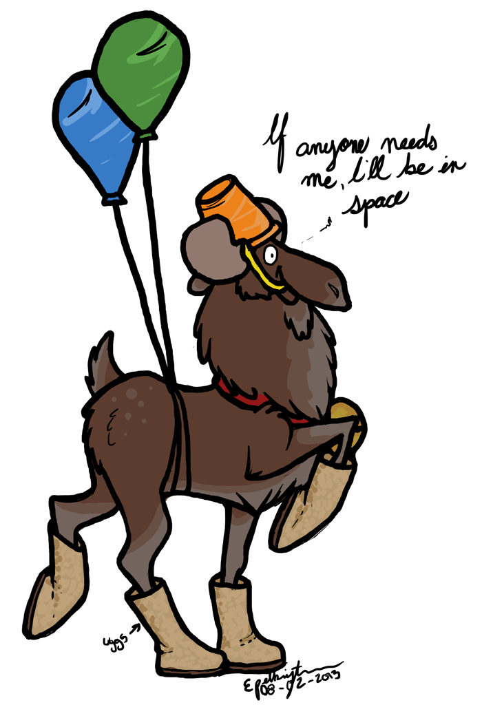 Moose clipart moose hunting. Astromoose by little on