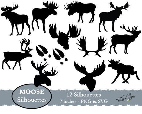 Moose clipart moose hunting. Svg gone image