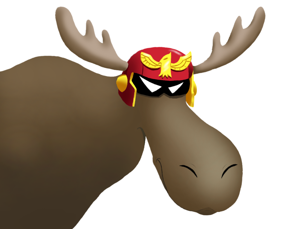 Moose clipart moose rack. Show ya by criticalhitsam