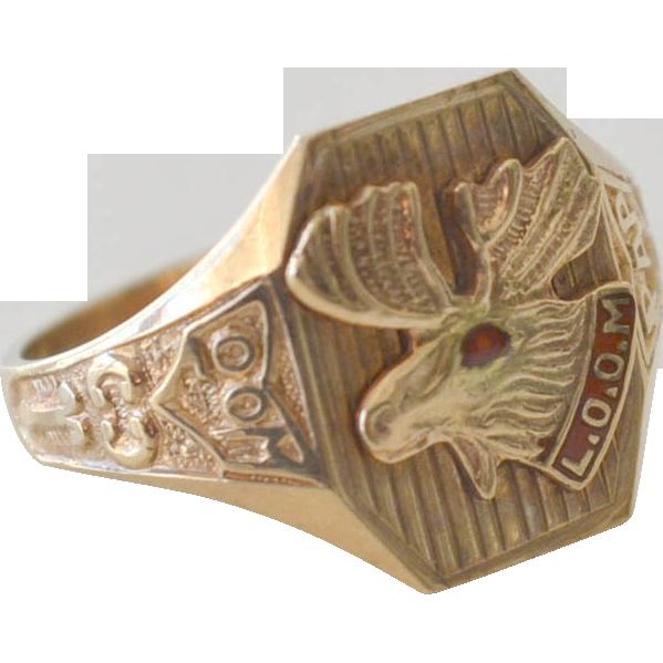 Loyal order of ring. Moose clipart mooseltoe