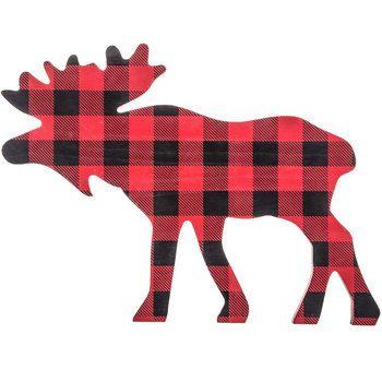 Moose clipart plaid. Free download clip art