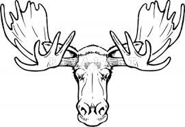 Pin by krys archabald. Moose clipart skull