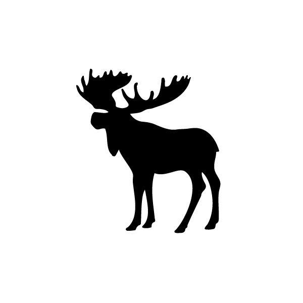 Moose clipart symbol canada. Silhouette clip art best
