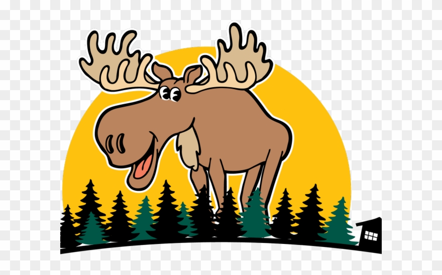 Moose clipart symbol canada. Female cartoon png download