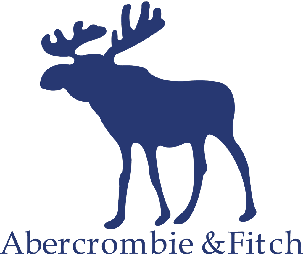 Moose clipart transparent background. Abercrombie fitch logo png