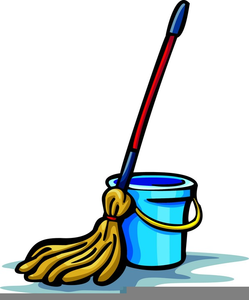 Free and bucket images. Mop clipart