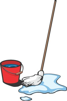 Mop clipart. Station