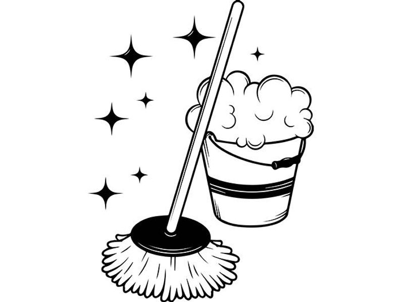 Mop clipart cobwebber. Drawing free download best