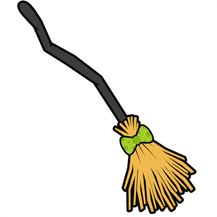 Witch clipart broom stick. Svg images gallery for