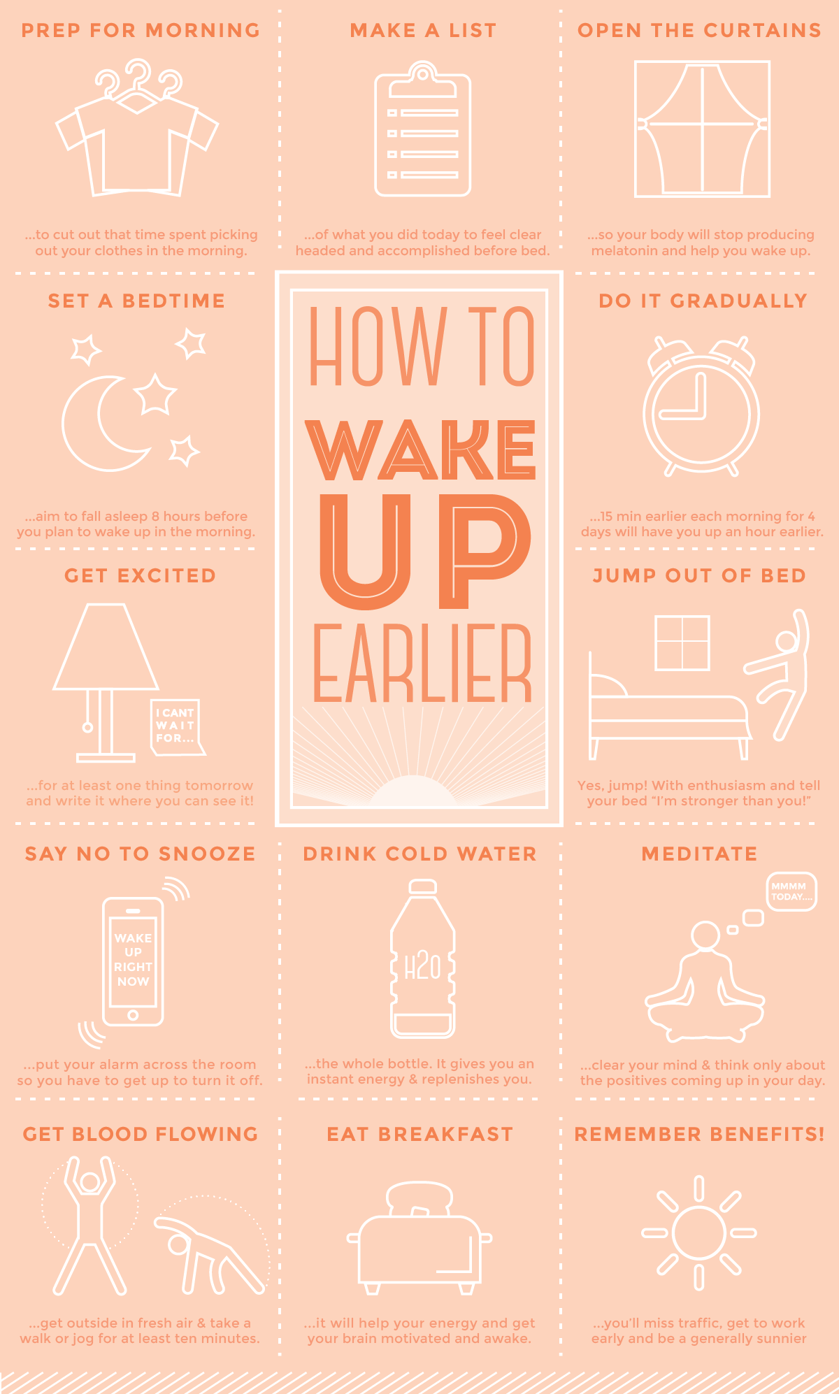 Get up in the. Morning clipart early to rise