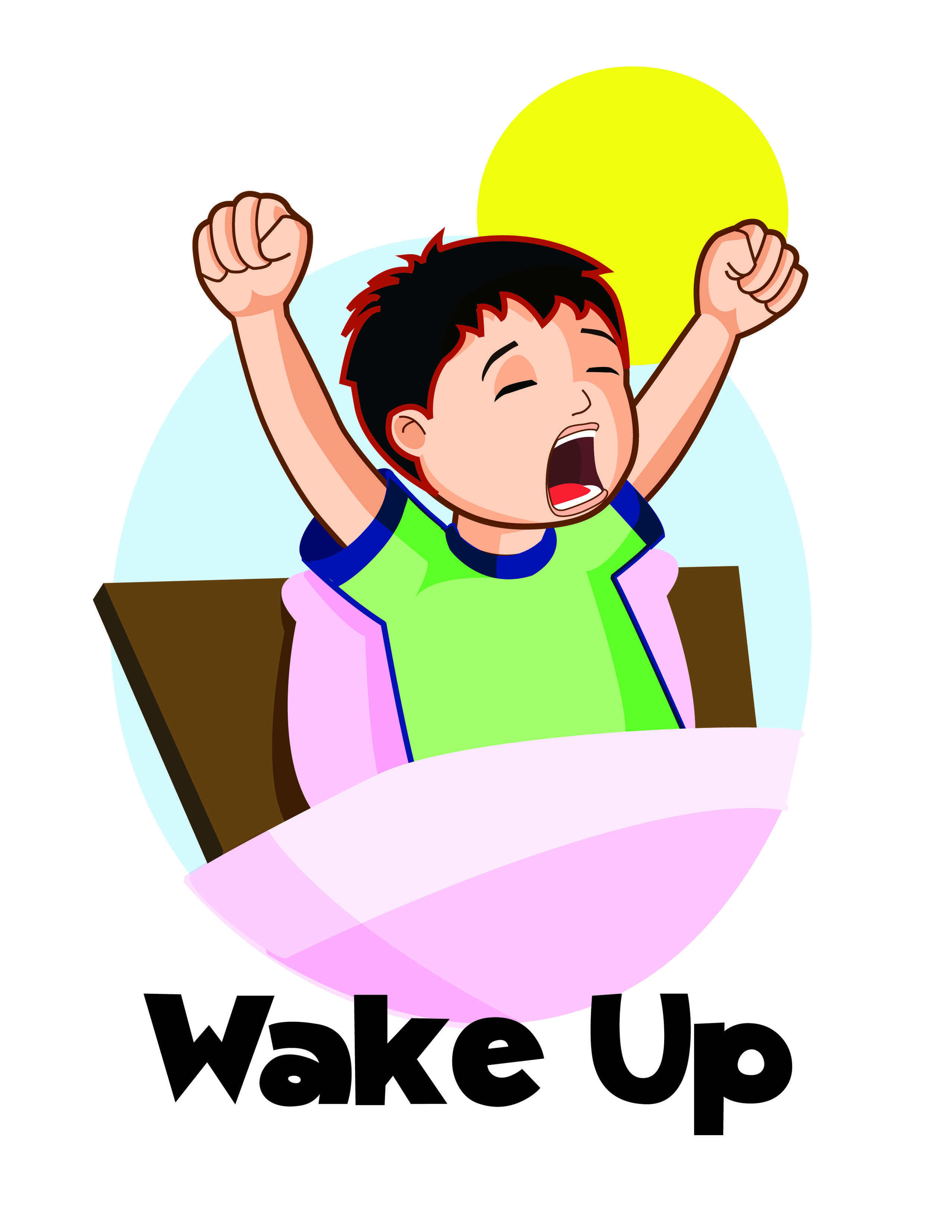 Morning clipart early to rise. Get up in the