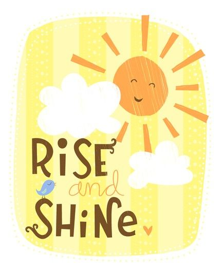 Good friday pinpeeps and. Morning clipart early to rise