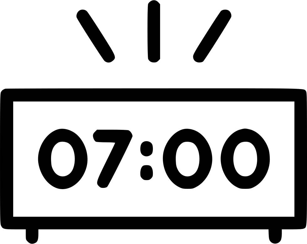 Alarm svg png icon. Morning clipart morning clock