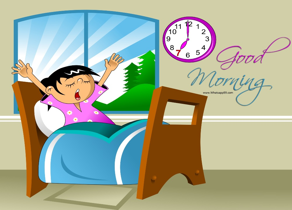 Morning clipart morning time. To wake up good
