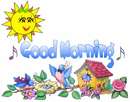 Free good pictures clipartix. Morning clipart thursday morning