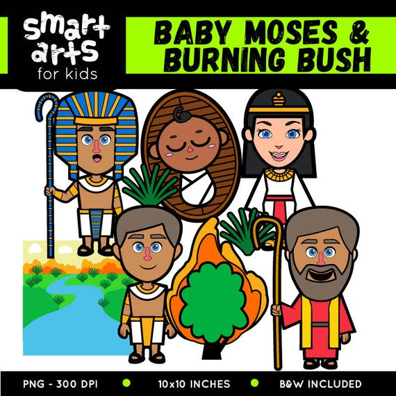 Baby clip art based. Moses clipart bible