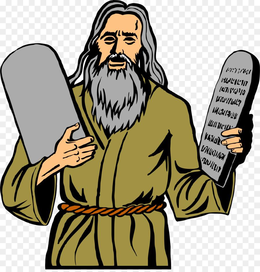 Moses clipart cartoon. Hair illustration bible