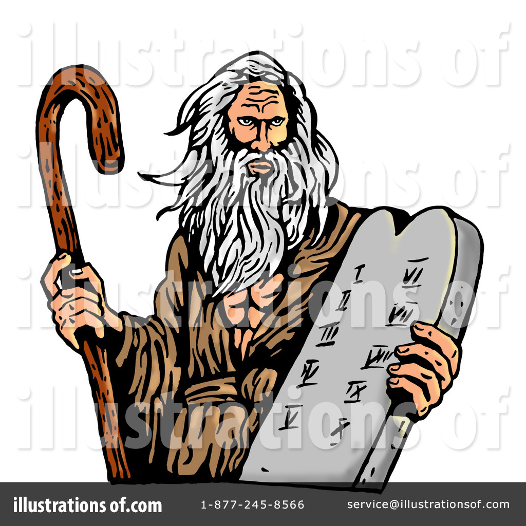 Illustration by patrimonio . Moses clipart easy