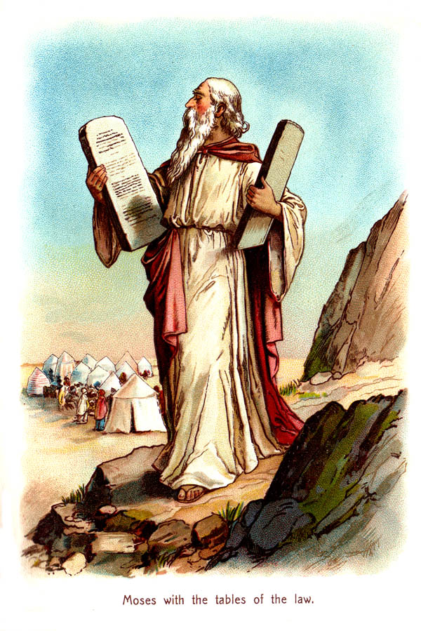 Moses clipart god. Christian images of bible