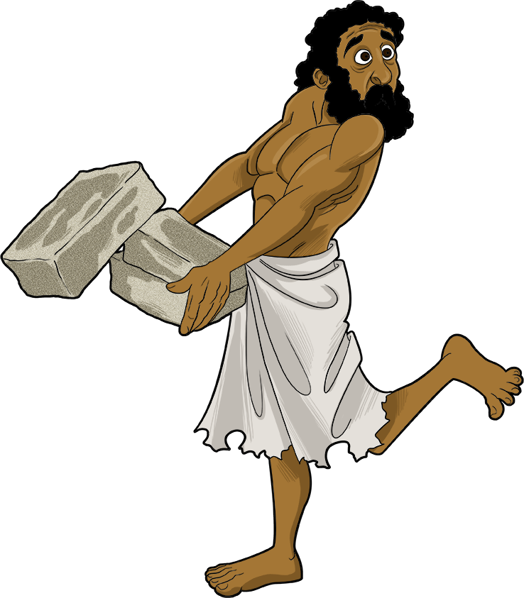 Moses clipart hebrews. And the ten plagues