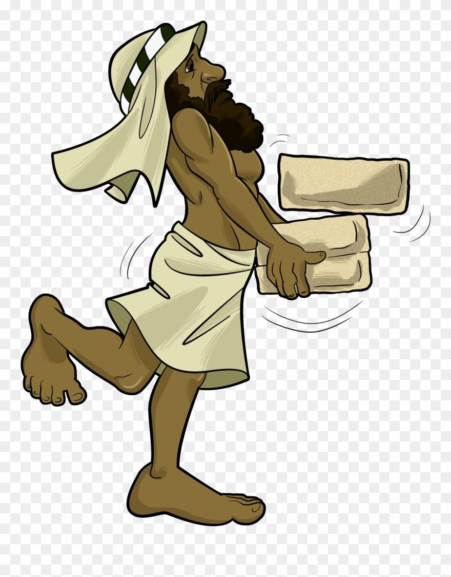Exodus bible crafts plagues. Moses clipart hebrews