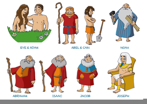 Moses clipart isaac bible. Characters joseph free images