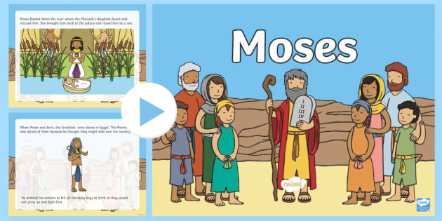 Story powerpoint teaching resources. Moses clipart ks1