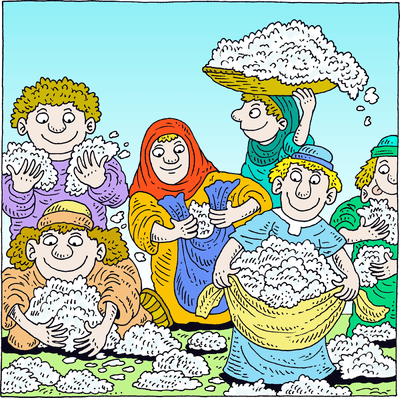 Cliparts zone . Moses clipart manna