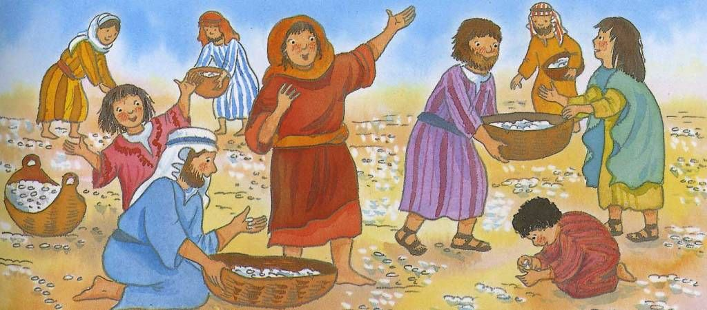 Moses clipart manna. Pin by judy jowers