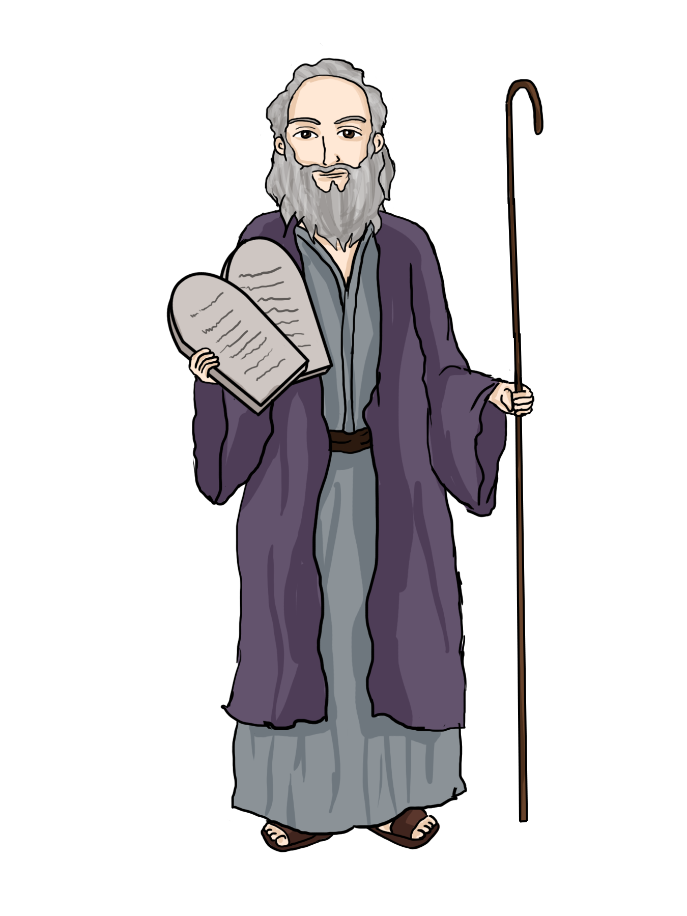 Free cliparts download clip. Moses clipart moshe