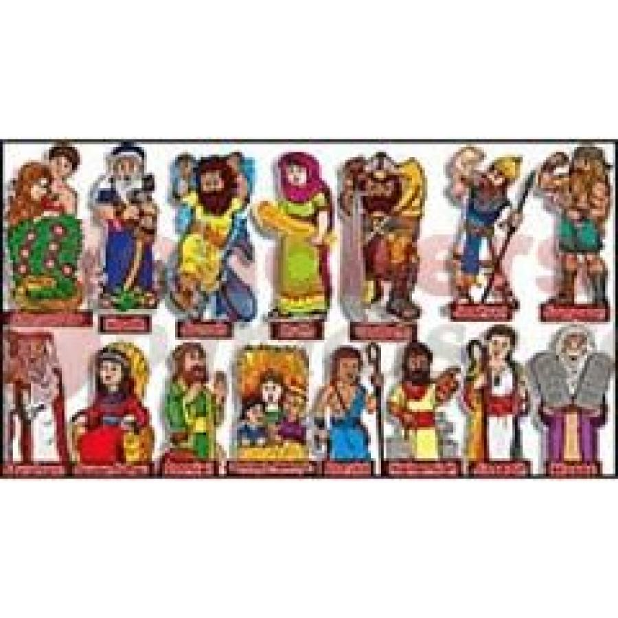 Bulletin board characters . Moses clipart old testament character